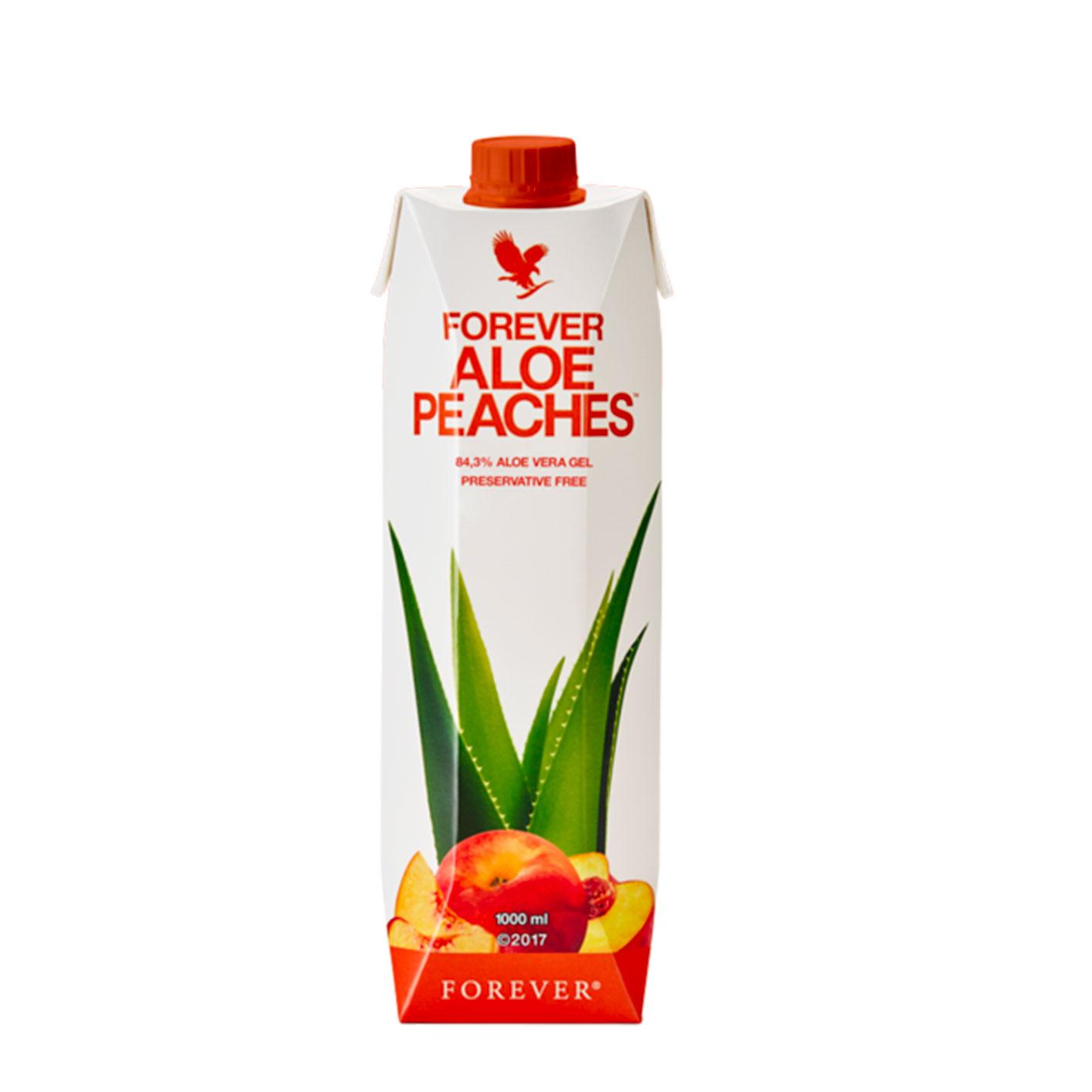 Forever Aloe Peaches napoj z aloe vera